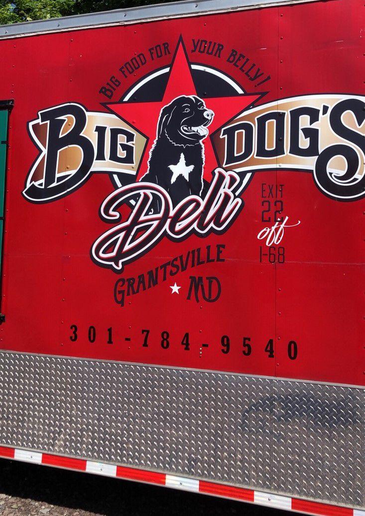 Big Dog's Deli trailer