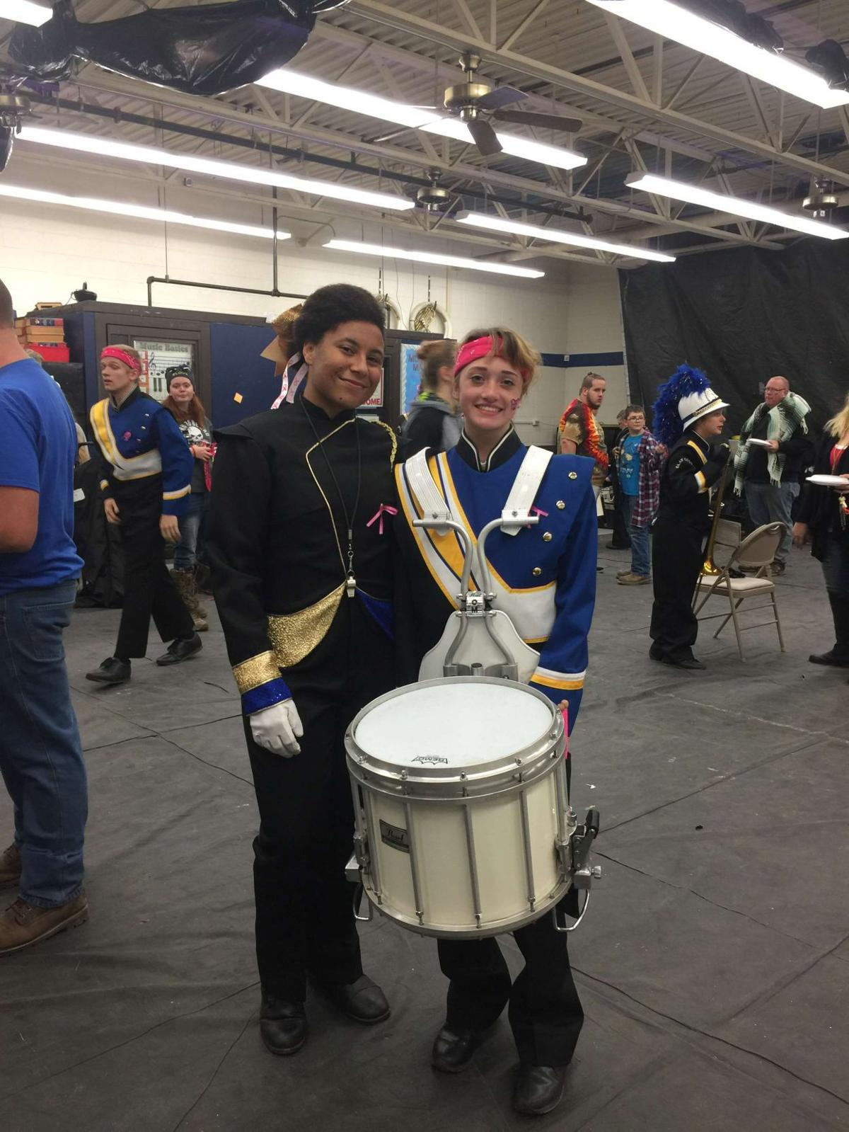 Katie Payne - Clay County Band Field Commander