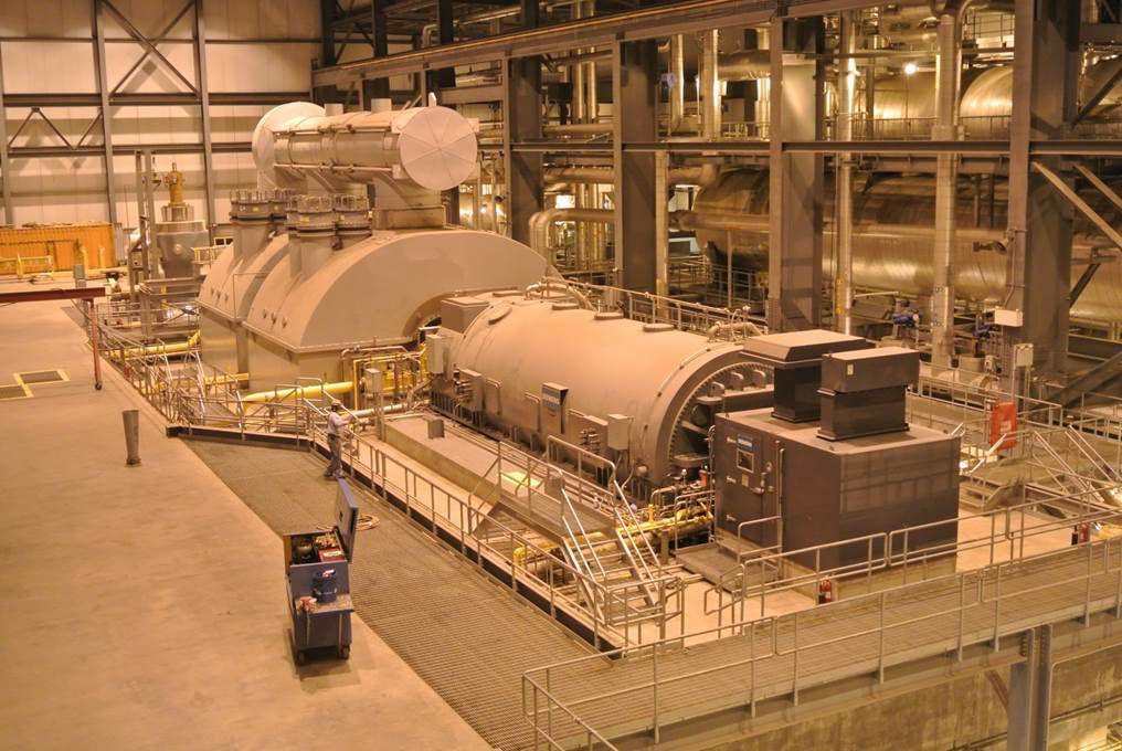 Longview Power turbine deck