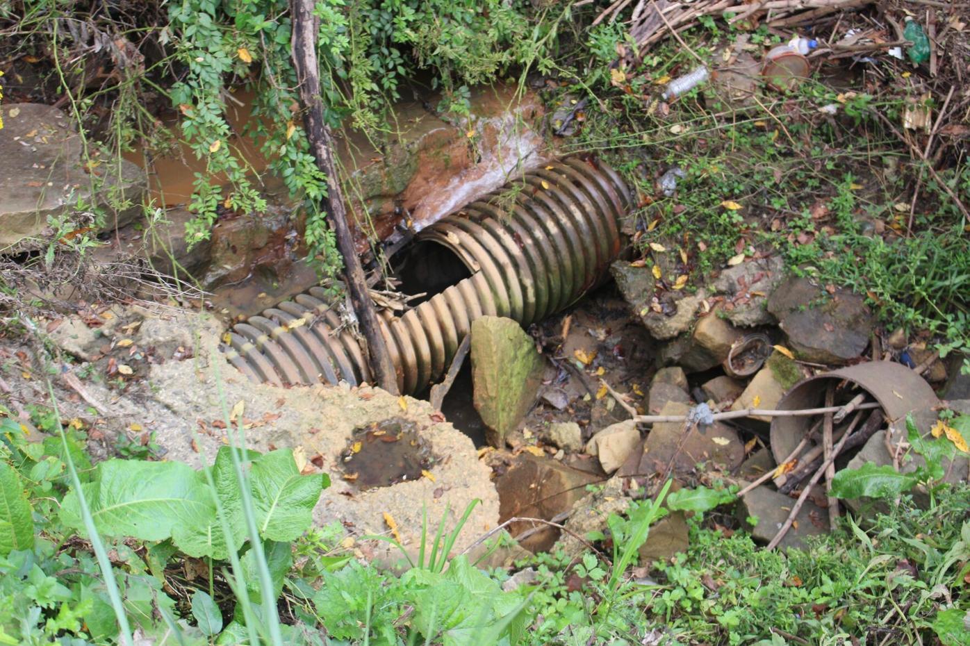 Tunnelton ditch flooding risk