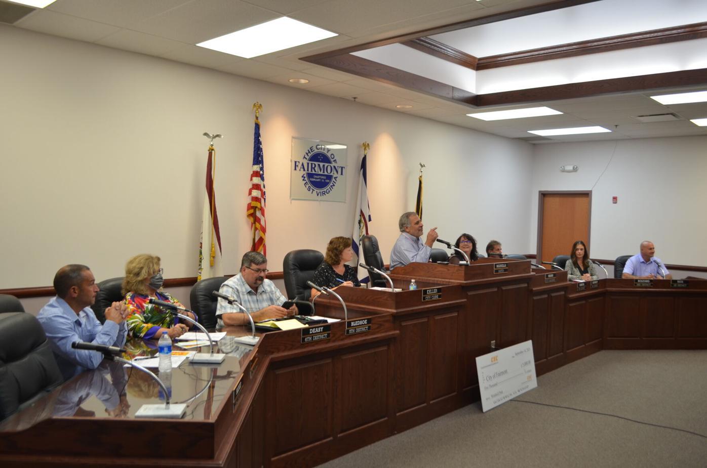 Fairmont City Council 9-14-2021