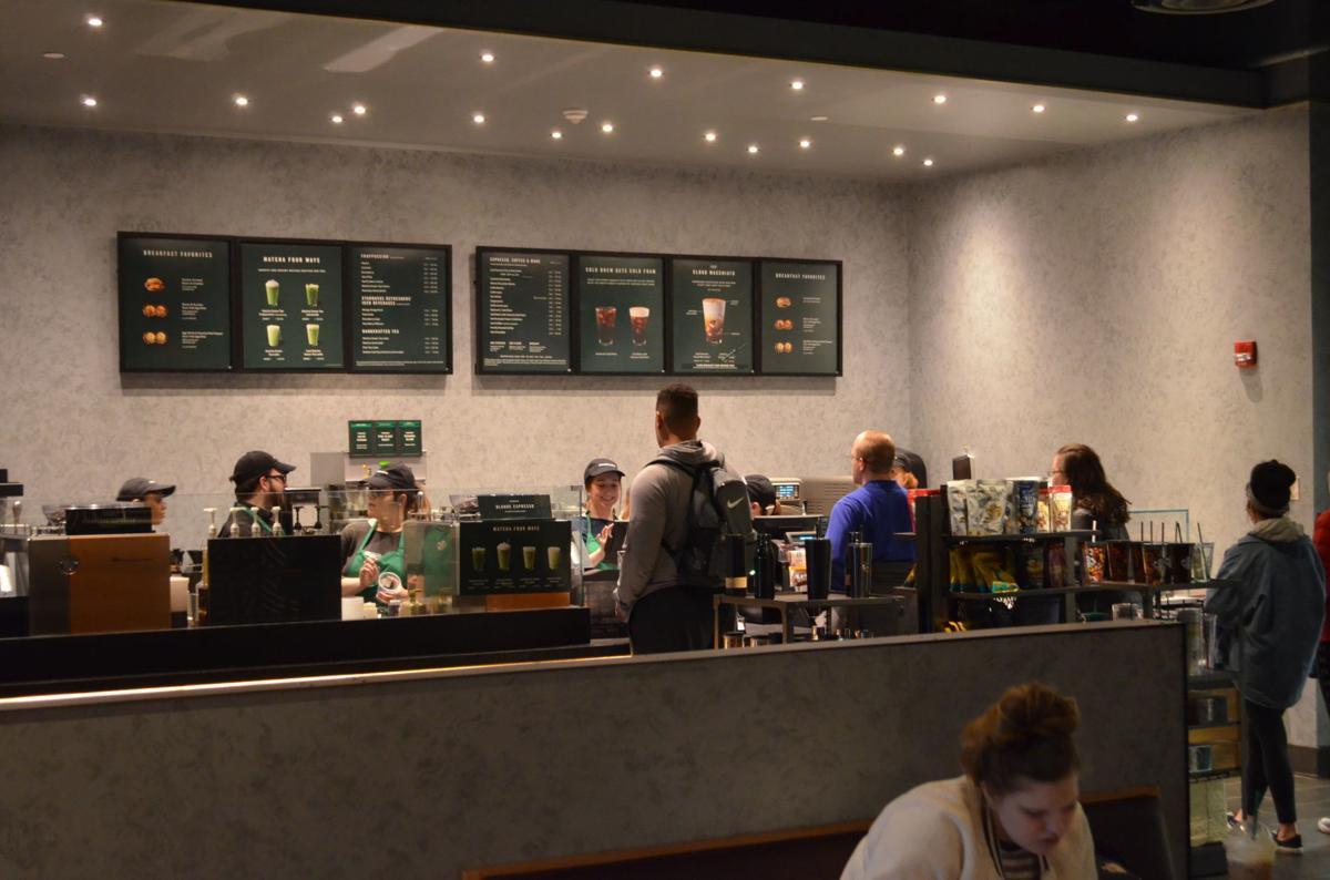 FSU Starbucks - line