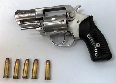 Yeager Airport gun 7-10-19