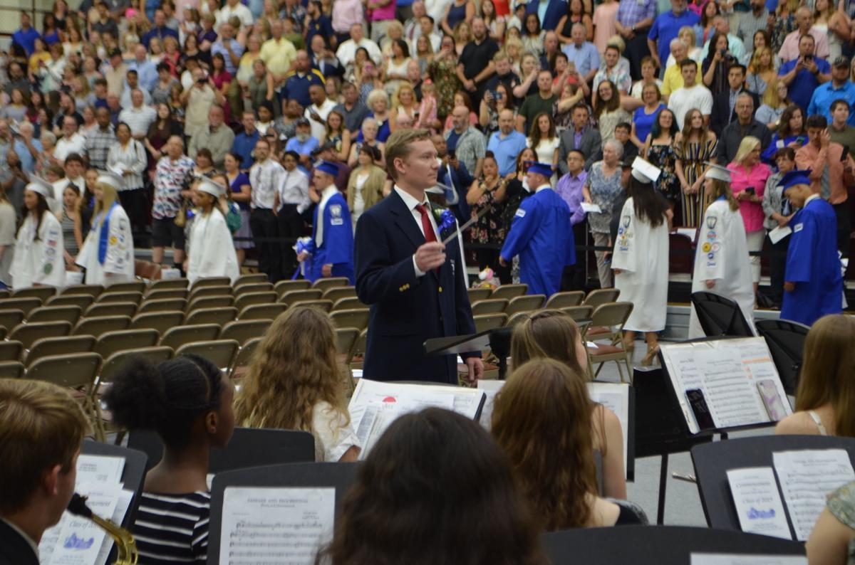 2019 FSHS graduation - band