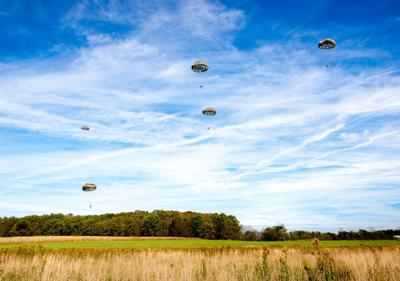 Red House, Md., air drop