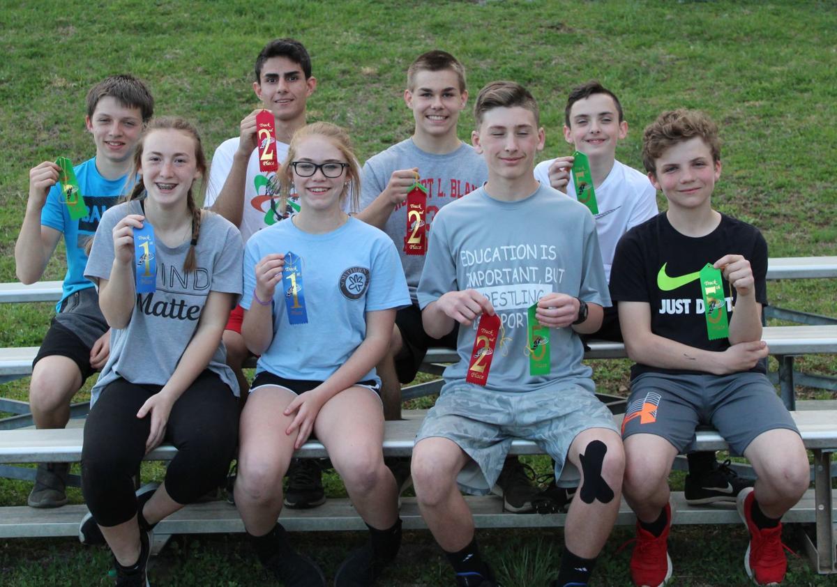 RLBMS Track Winners: Doddridge County