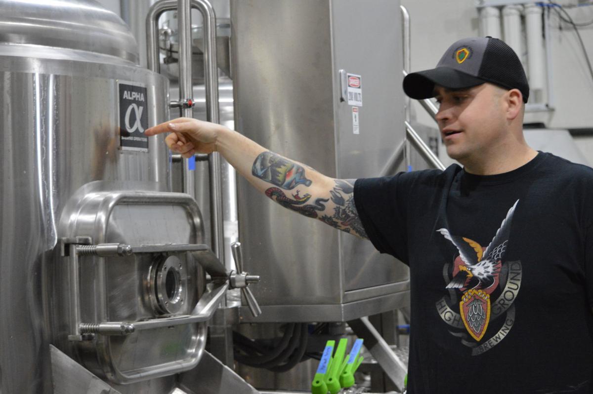 High Ground Brewery: Vat