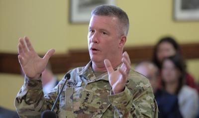 Adjutant Gen. James Hoyer