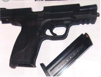 Airport gun