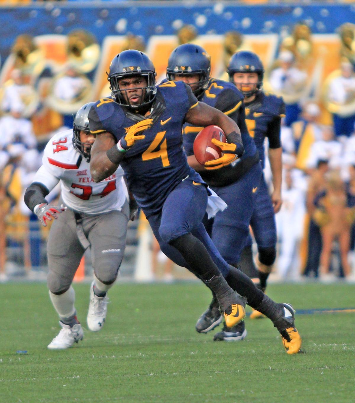 Image result for wendell smallwood WVU