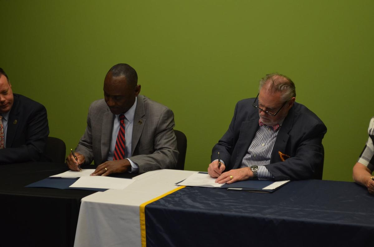 Pierpont, AB agreement signing