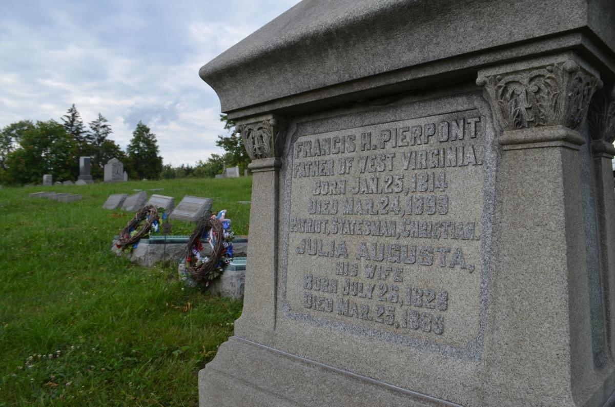 Pierpont grave site