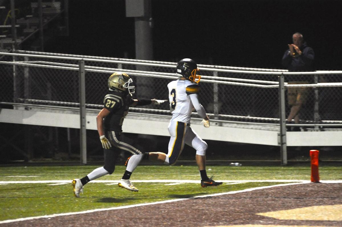 Aiden Slusser touchdown