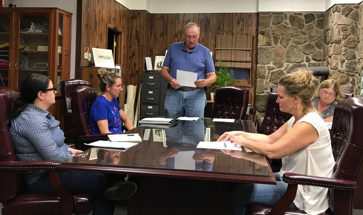 Accident Town Council hears sewer project update