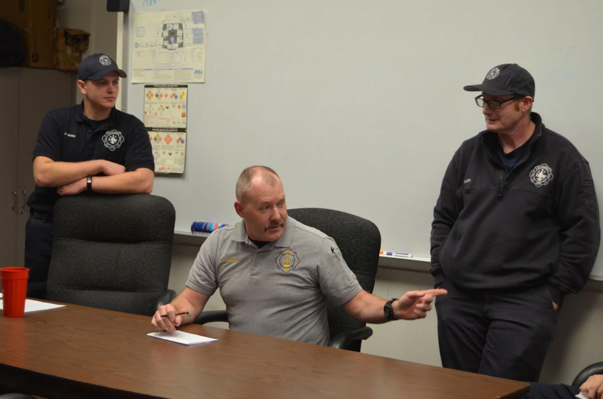 Clarksburg Fire Department meeting