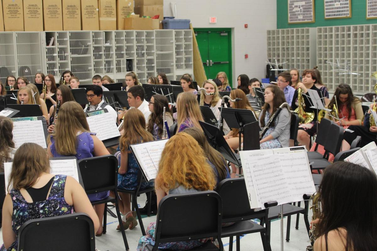 Middle and high school students showcase talents at Region 10 Band