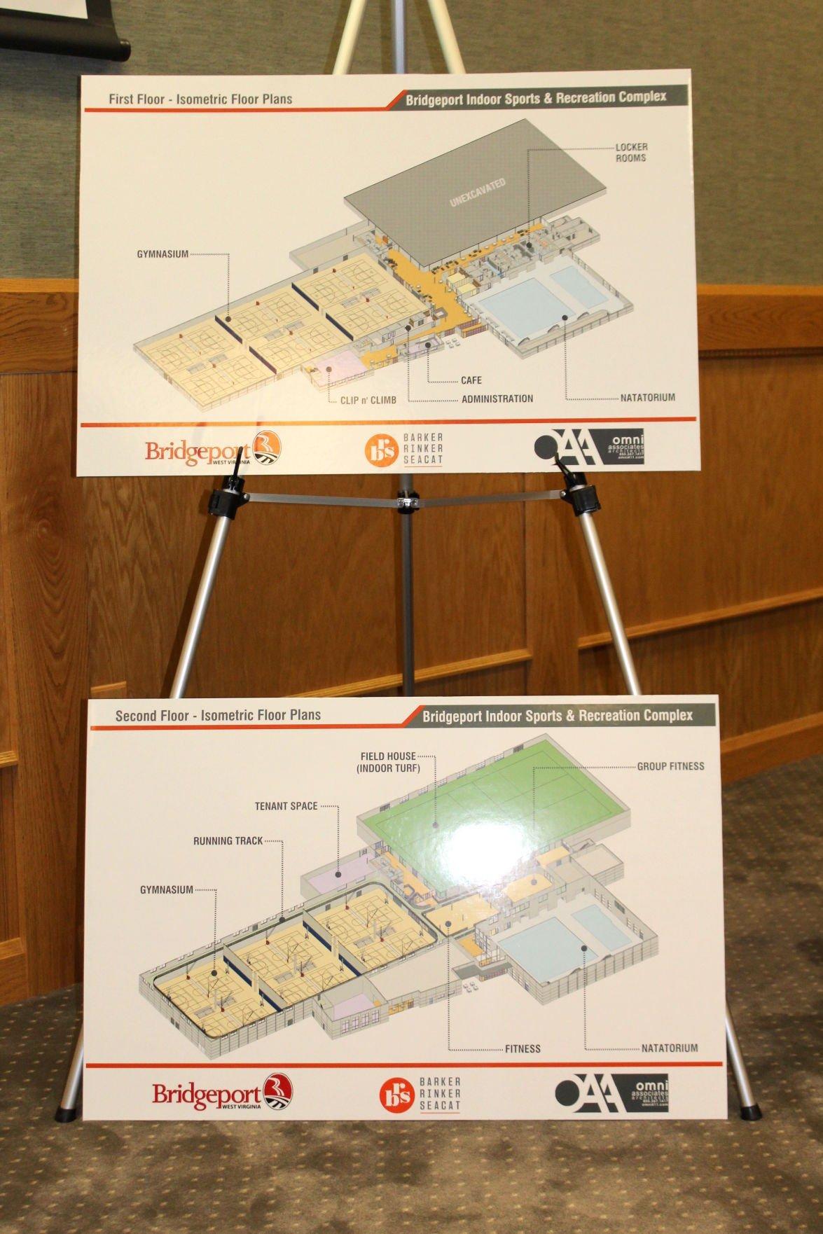 Bridgeport Indoor Sports and Recreation Complex plans