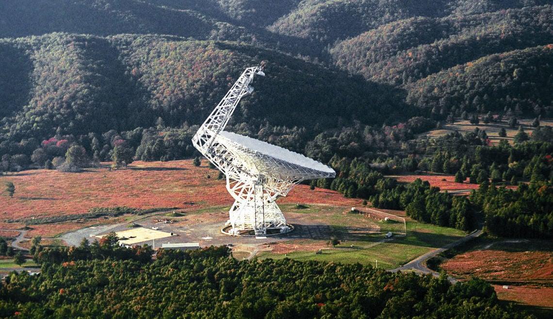 Robert C. Byrd Green Bank radio telescope