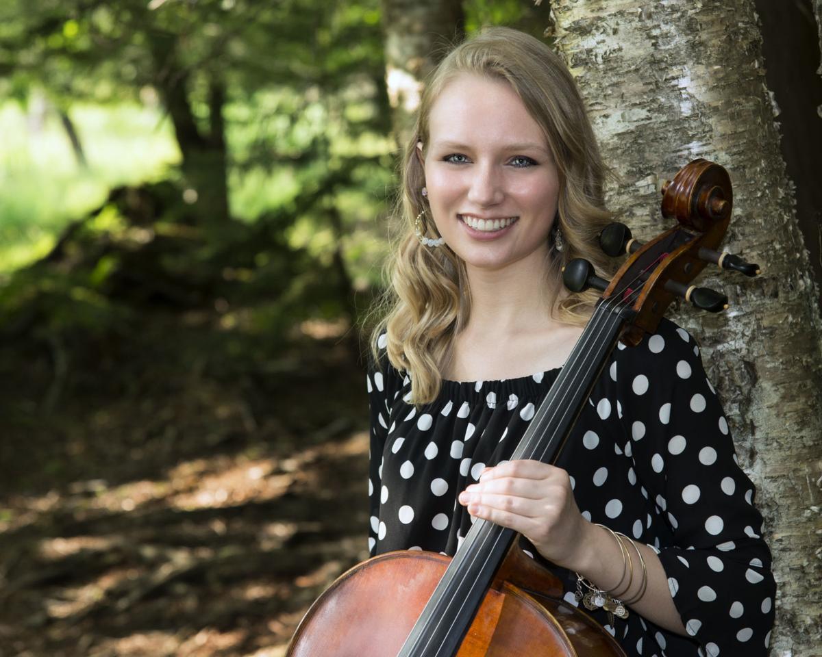 Driscoll with cello