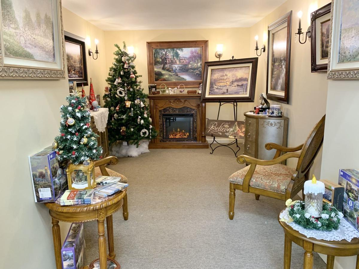 Favorite Things Thomas Kinkade Room
