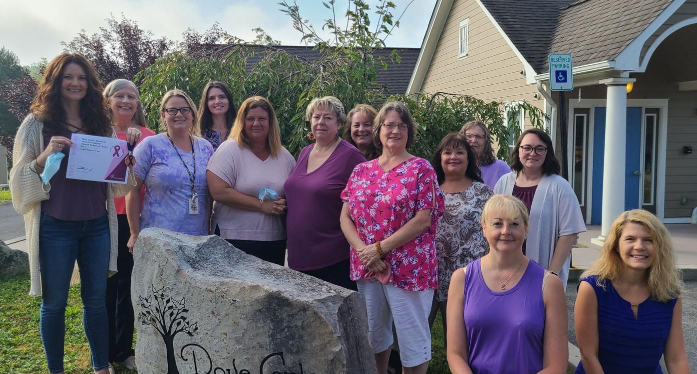 Dove Center staff