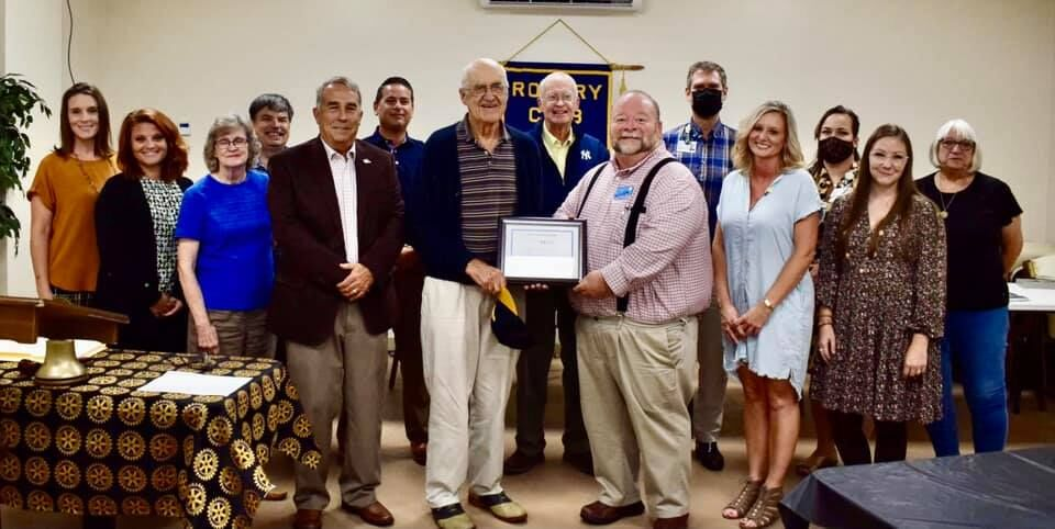 Rotary receives special recognition