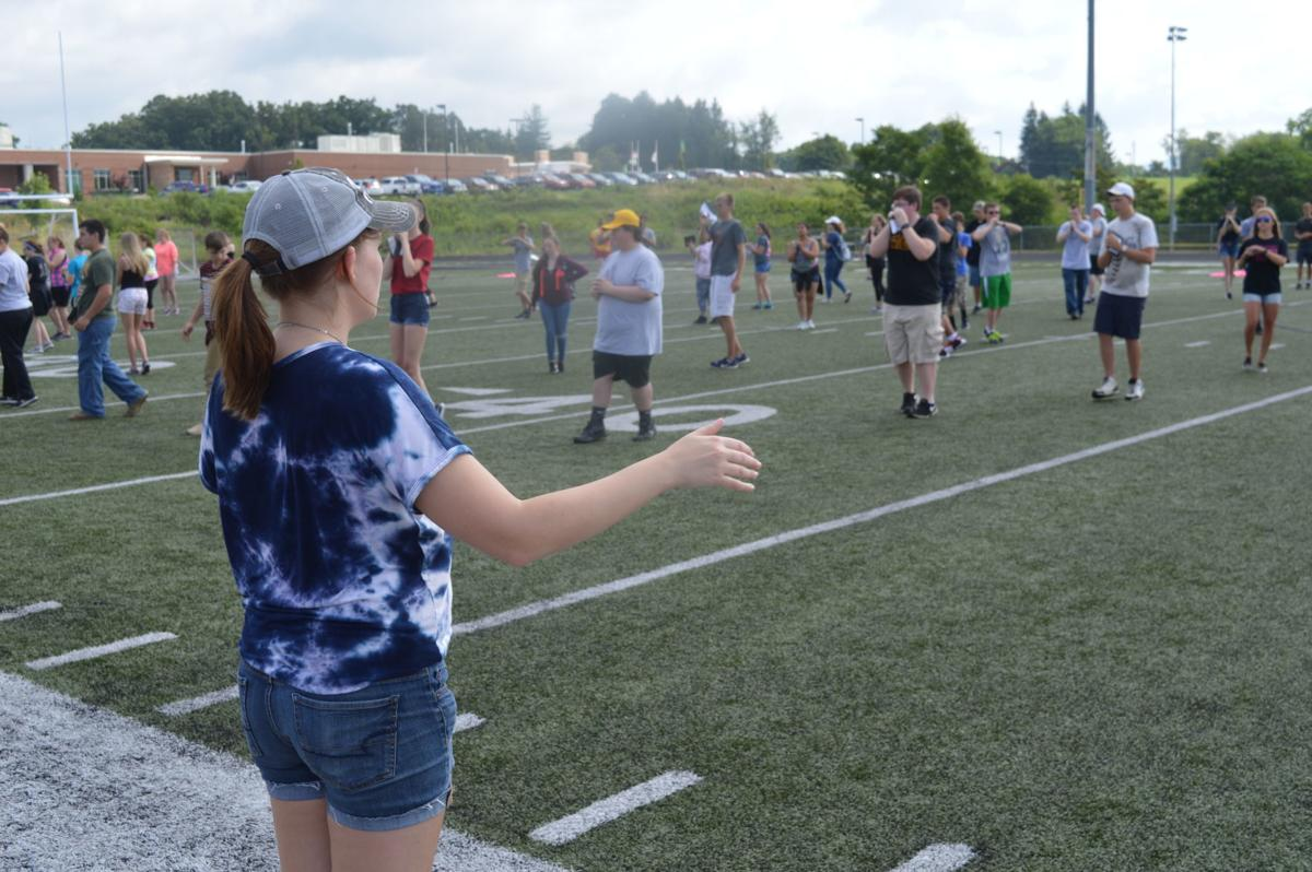 PHS Drum Major Abigail Pletcher