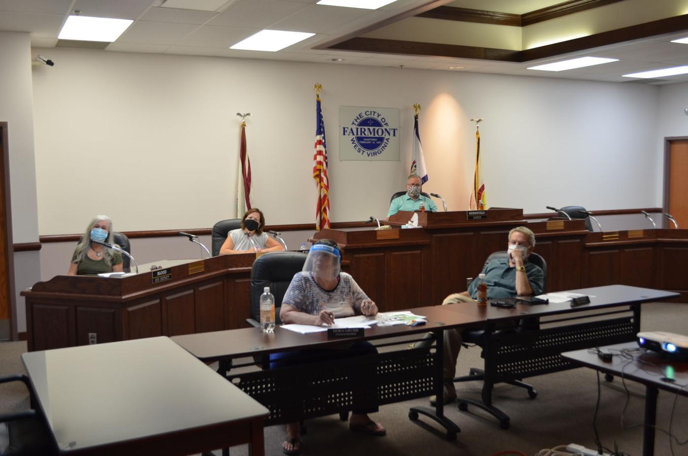 Fairmont City Council 9-8-2020