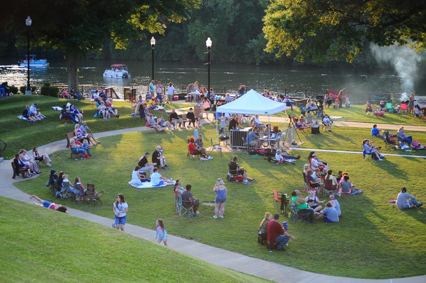 Palatine Park Fourth of July 2020