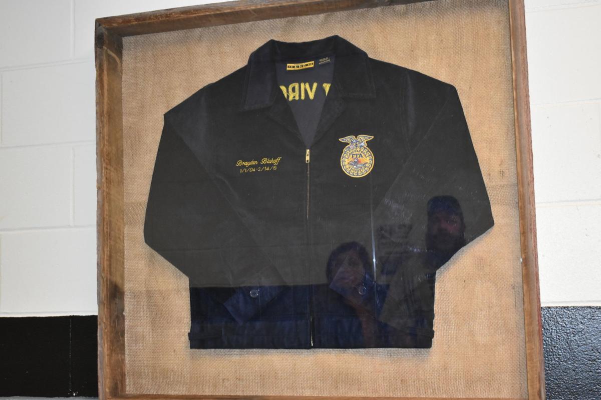 Brayden Bishoff's FFA jacket