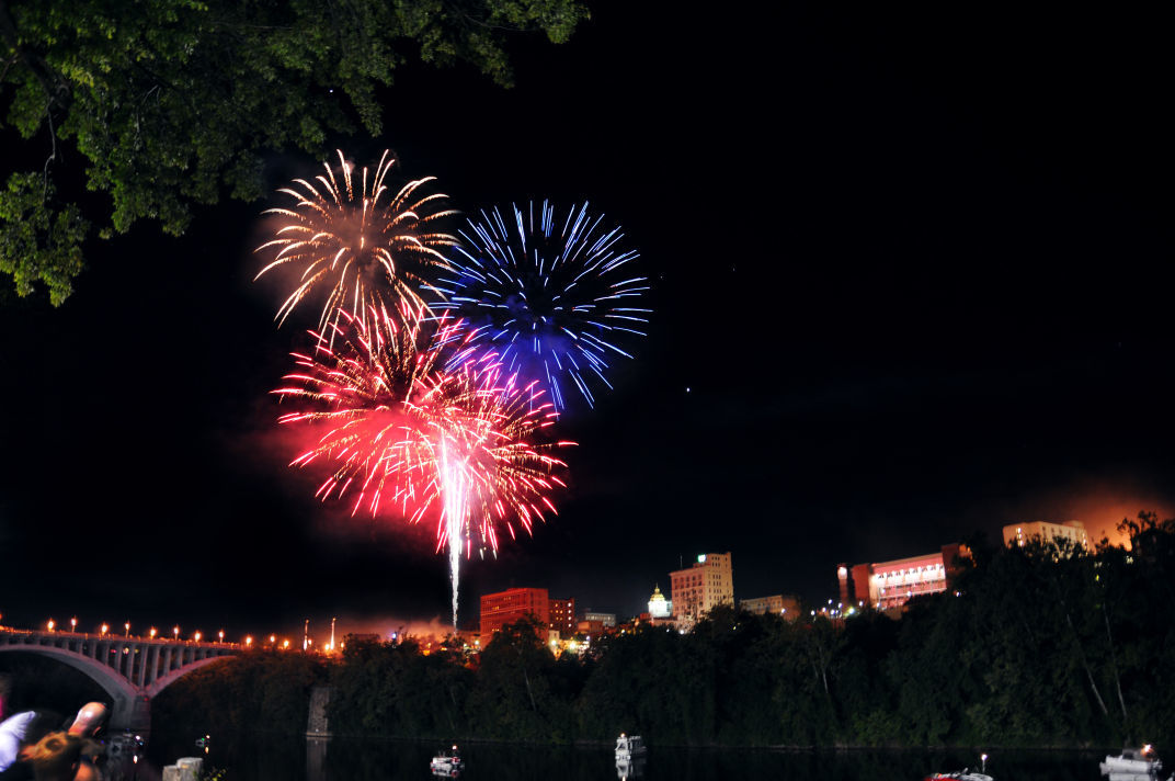 Three River Festival fireworks
