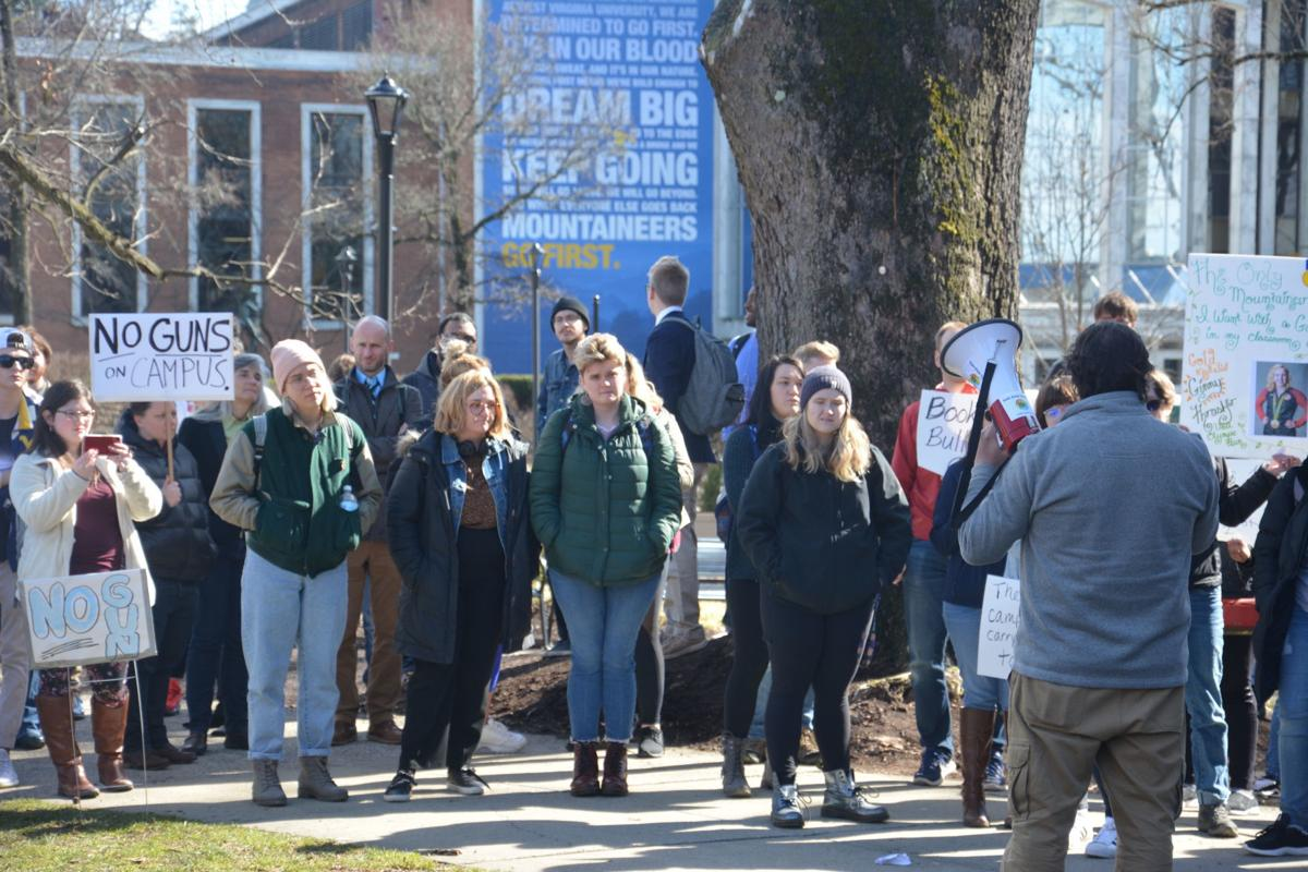 Campus Carry protest