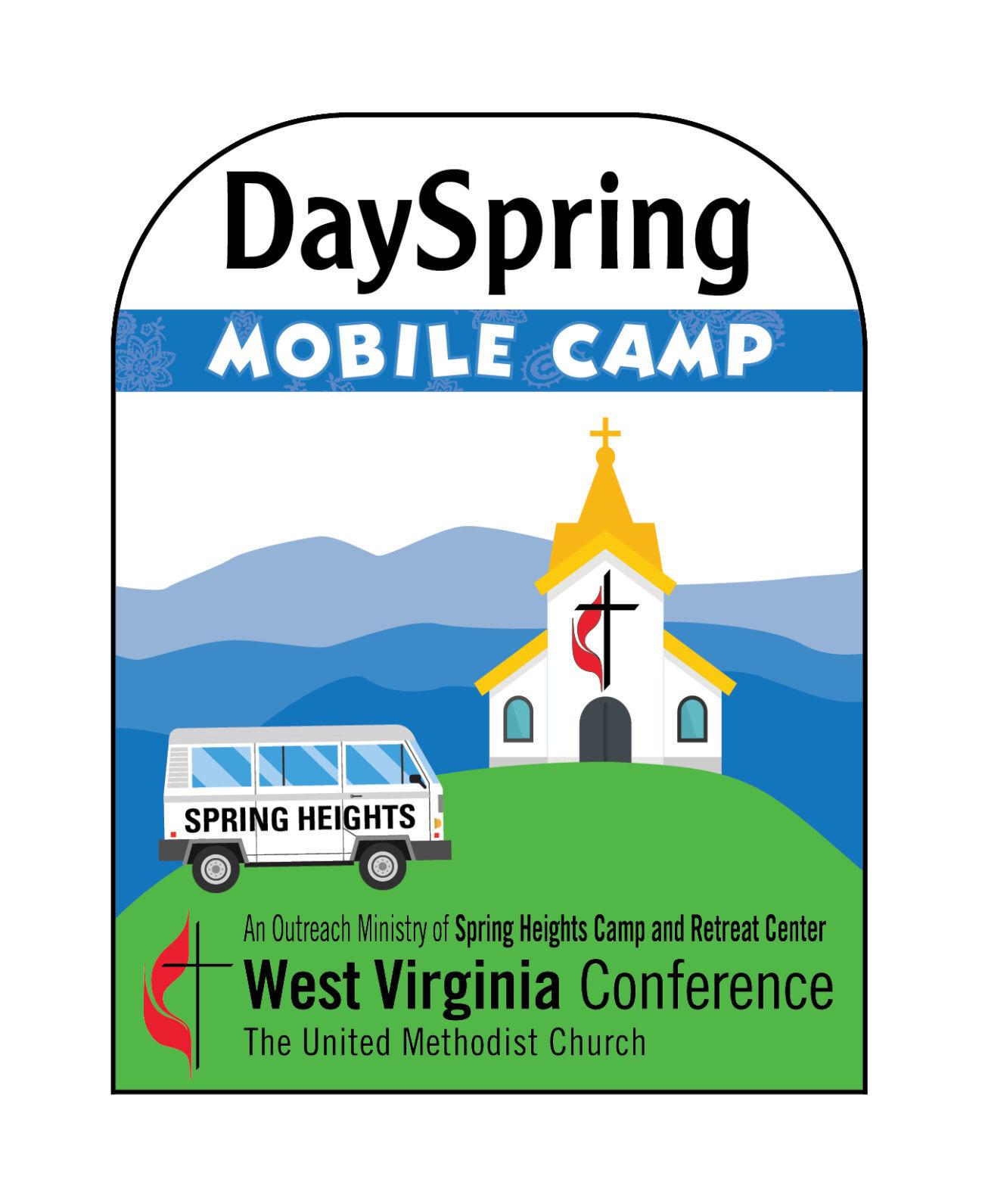 DaySpring Mobile Camp logo