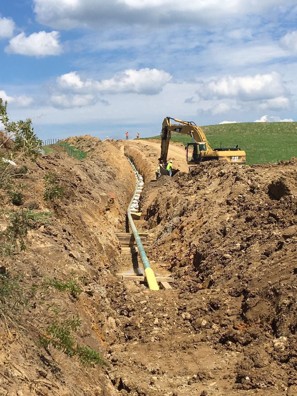 ferc order  construction activity can resume on most of mountain valley pipeline route