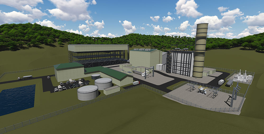 Harrison County Natural Gas Power Generation Facility