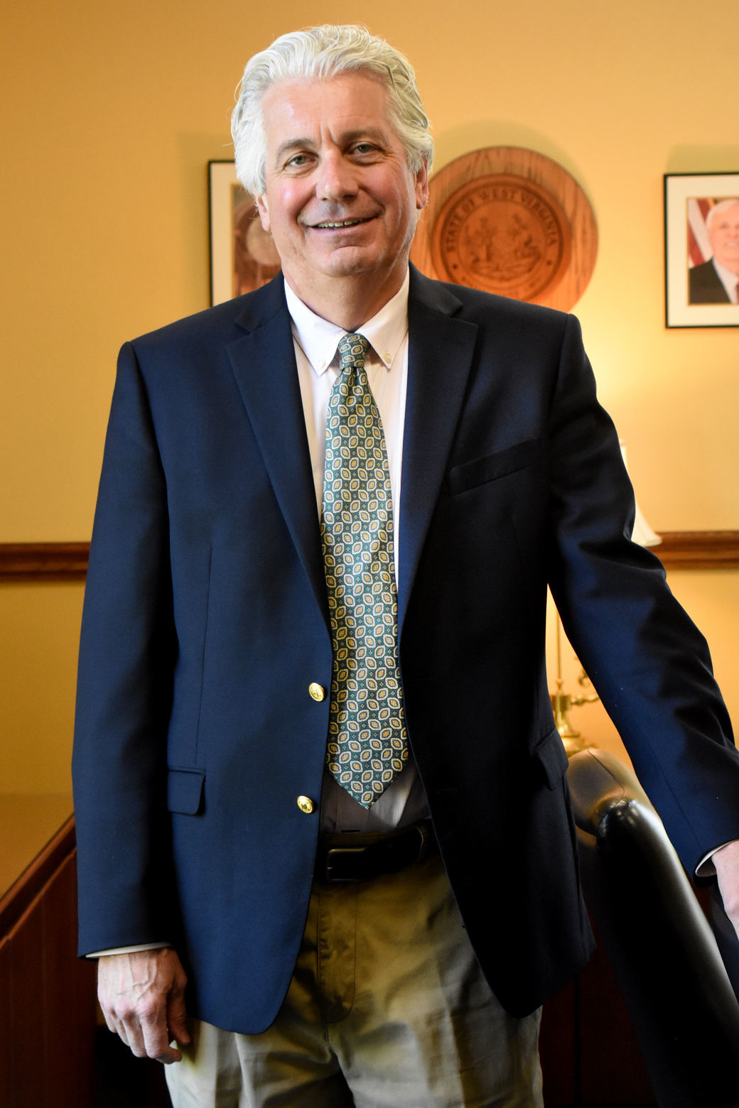 Revenue Secretary Dave Hardy