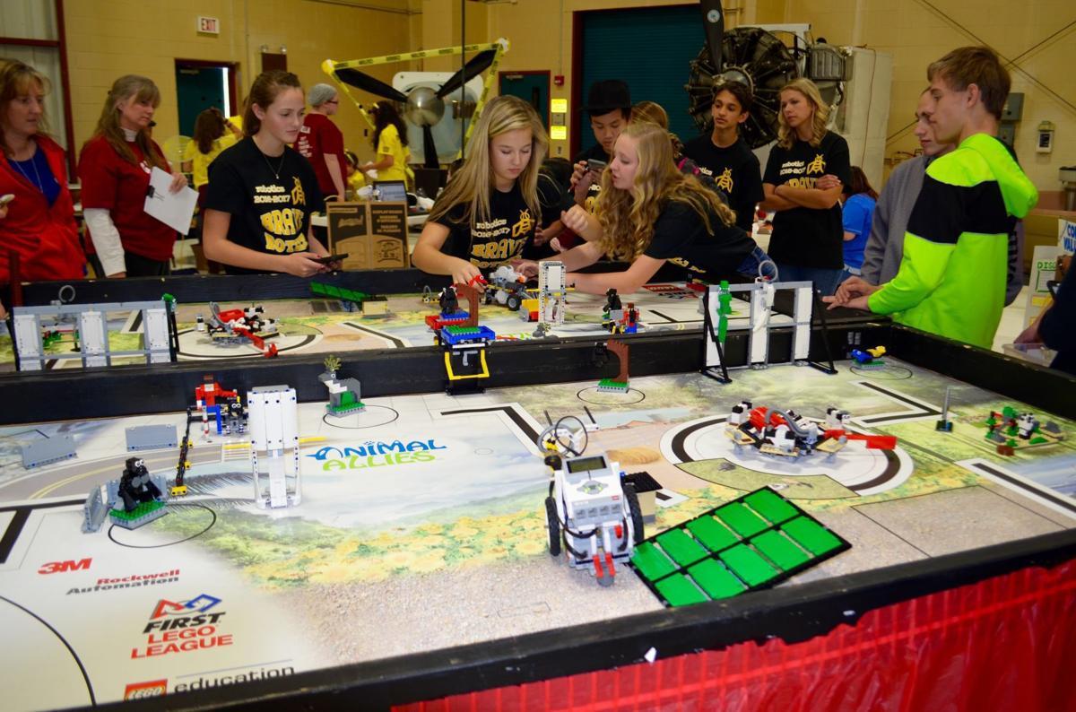 Robert C Byrd National Aerospace Education Center Hosts Lego