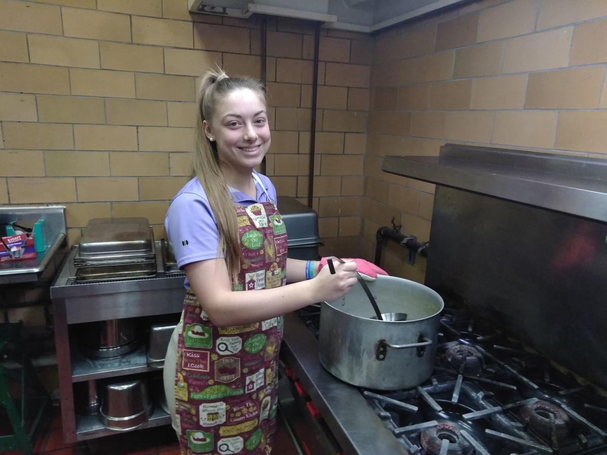 Stirring in the kitchen