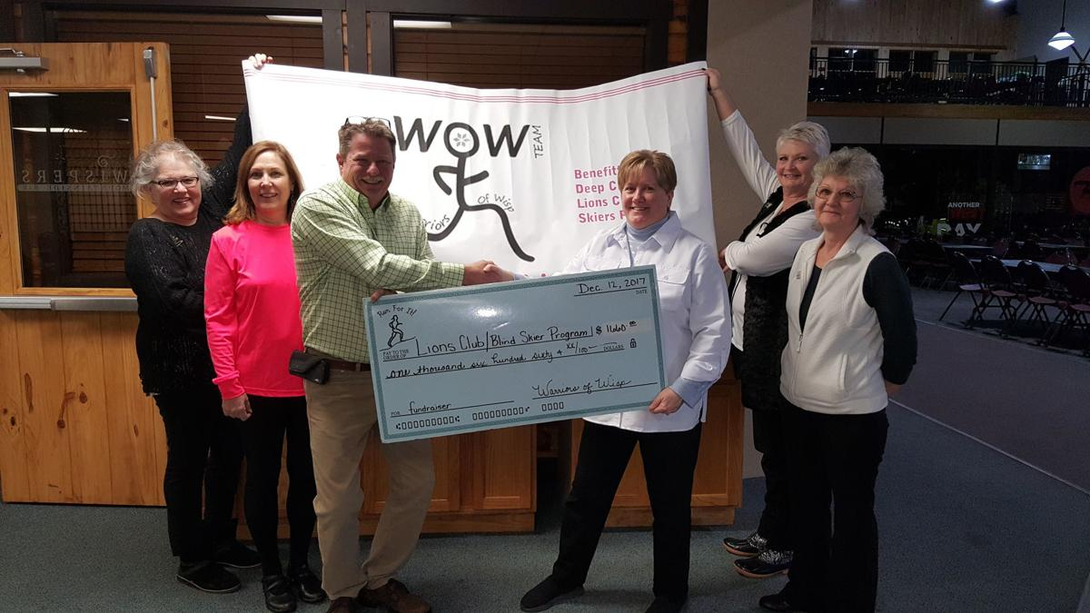 WOW donates to Blind Skier Program