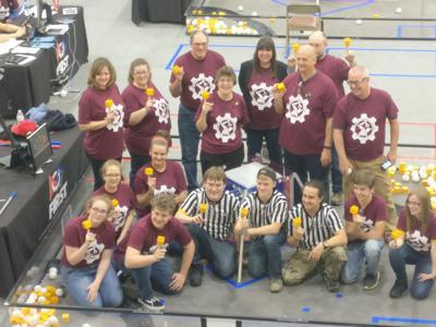 Robotic Team in Training
