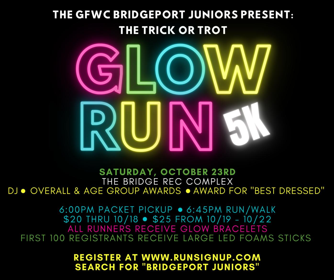 Glow Run graphic