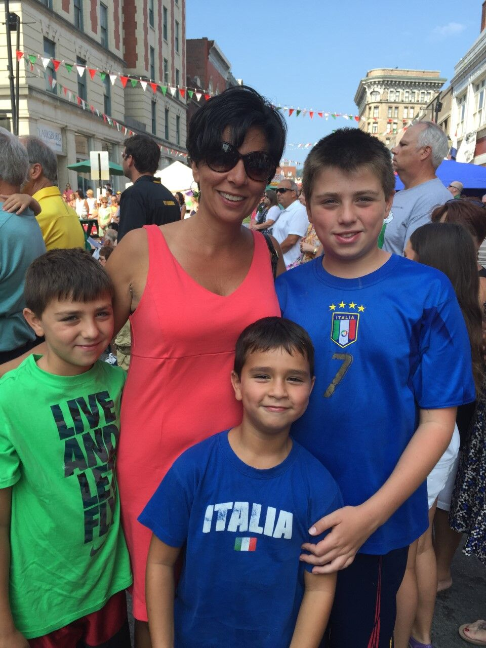 Joanna Graper and sons