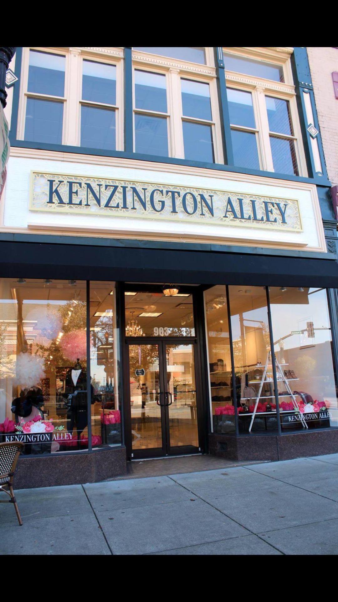 Kenzington Alley store front
