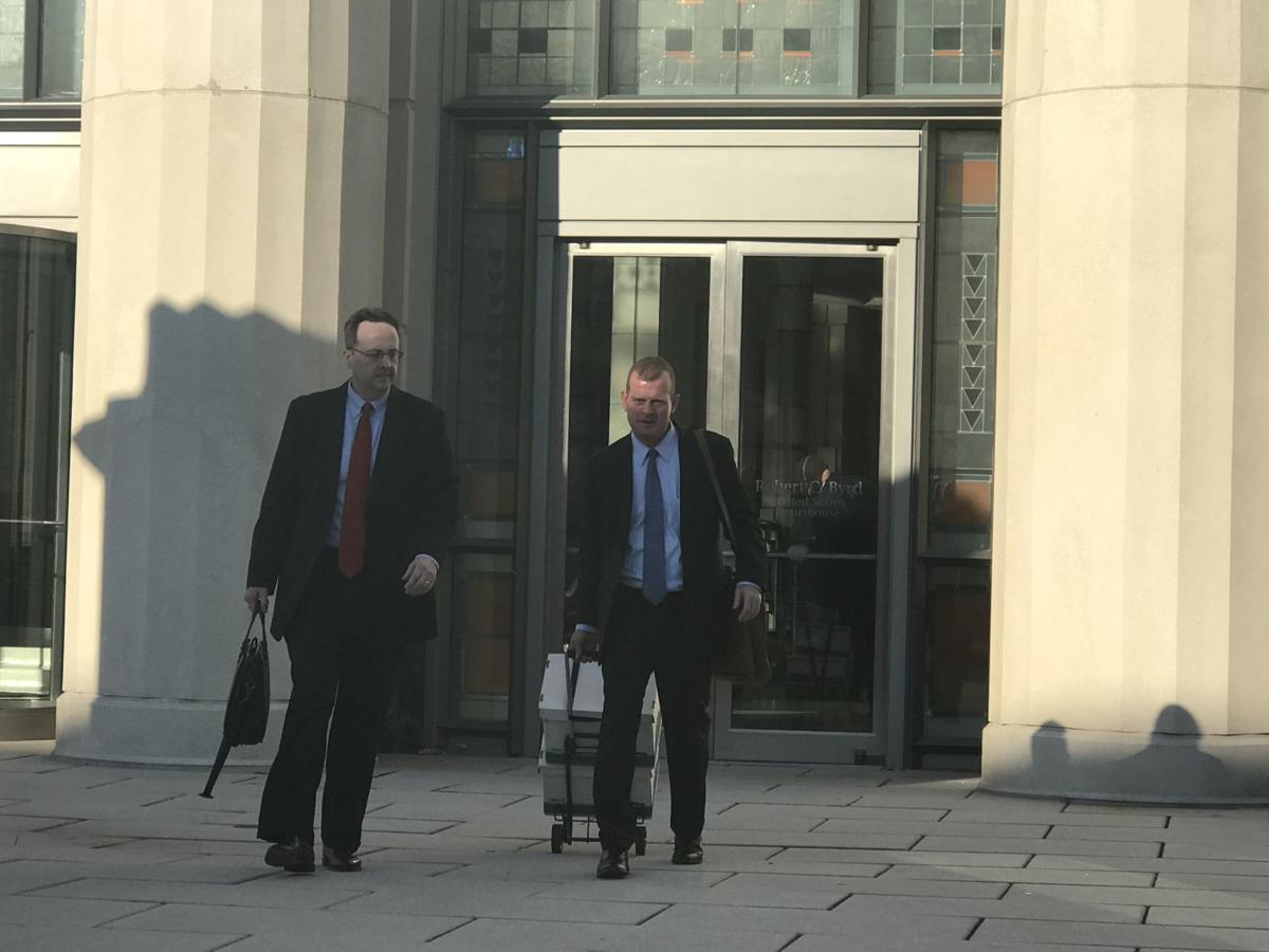 Loughry with attorney