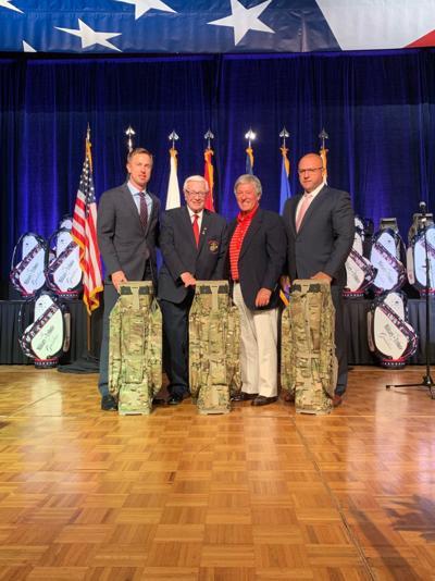 Greenbrier, United honor veterans