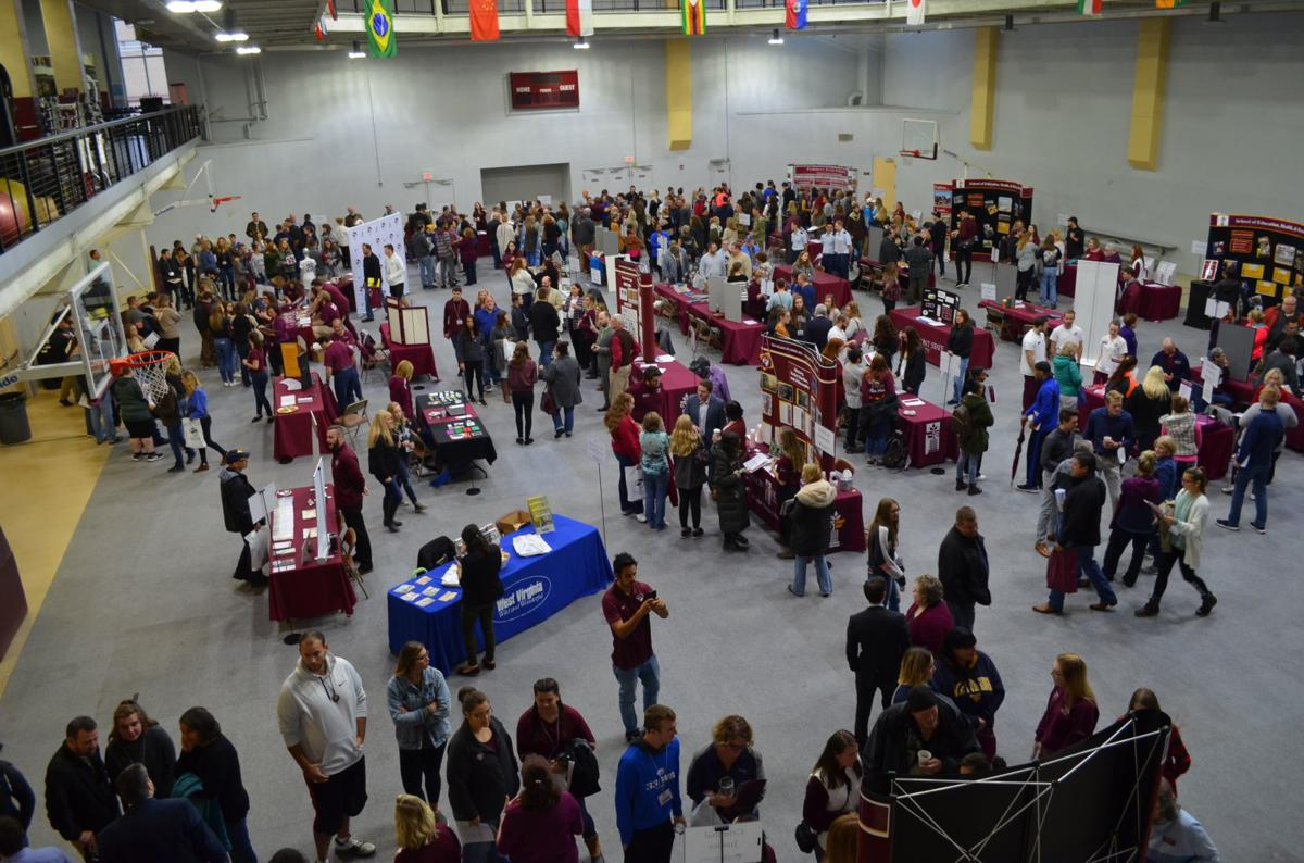Maroon and White Day academic fair