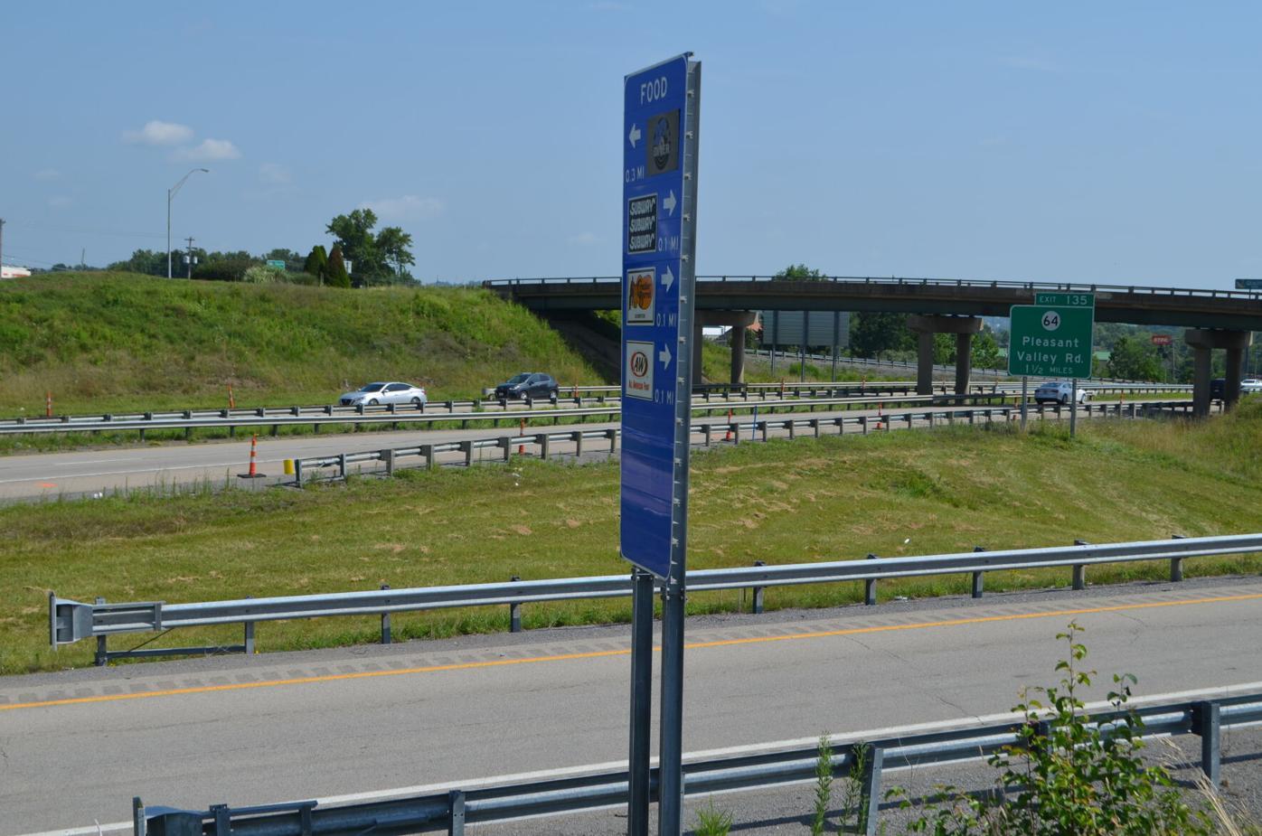 Pleasant Valley exit