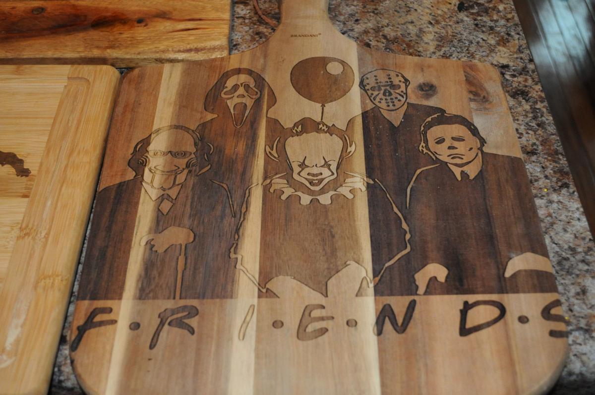 Woodcraft item Halloween friends