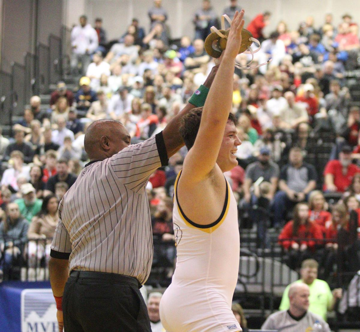 Nate Kotsko ended his senior year as a state champion