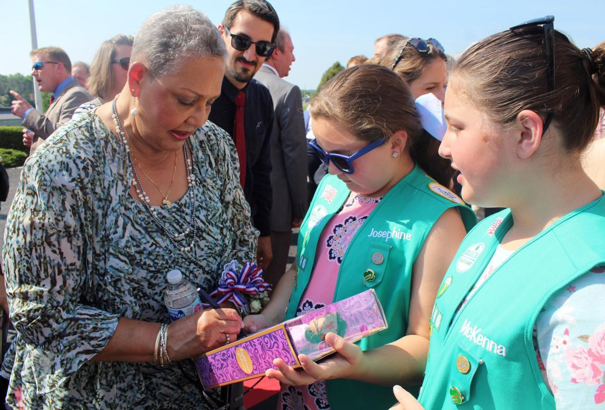 Autographing Barbie